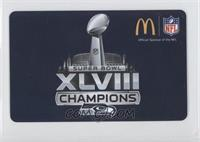 Super Bowl 48 Champions Logo