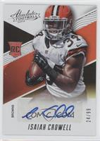 Isaiah Crowell #24/99