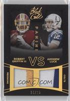 Andrew Luck, Robert Griffin III /25