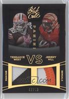 Jeremy Hill, Terrance West /49