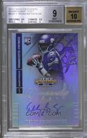 Teddy Bridgewater (throwing, looking to left side of card) /49 [BGS 9]