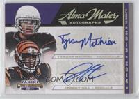 Jeremy Hill, Tyrann Mathieu /25