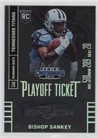 Bishop Sankey (running to right side of card) /99