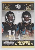 Allen Robinson, Marqise Lee /99