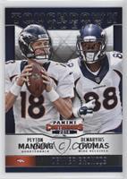 Demaryius Thomas, Peyton Manning