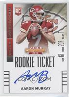 Aaron Murray (looking to right side of card) /25