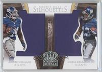 Andre Williams, Odell Beckham Jr. #53/99