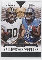 Eric Ebron, Jimmy Graham