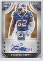 Preston Brown /25