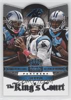Cam Newton, DeAngelo Williams, Kelvin Benjamin