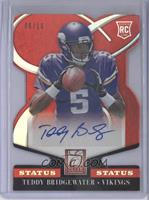 Rookie Signatures - Teddy Bridgewater /10