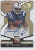 Rookie Signatures - Donte Moncrief /199