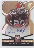 Rookie Signatures - Terrance West /199