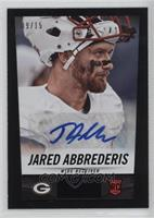 Jared Abbrederis /15