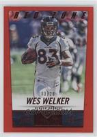 Wes Welker /20