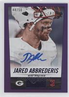 Jared Abbrederis /50