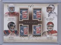 Aaron Murray, Jimmy Garoppolo, Logan Thomas, Tom Savage /1