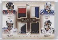 Andrew Luck, Blake Bortles, Jake Locker, Tom Savage /10