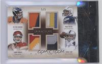 Aaron Murray, Peyton Manning, Philip Rivers, Derek Carr /5
