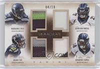 Demaryius Thomas, Golden Tate, Knowshon Moreno, Marshawn Lynch /10