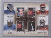 Eric Ebron, Andre Williams, Austin Seferian-Jenkins, De'Anthony Thomas /5