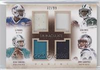 Geno Smith, Jimmy Garoppolo, Ryan Tannehill, EJ Manuel /99