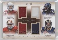 Logan Thomas, Colin Kaepernick, Richard Sherman, Sam Bradford /49