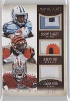 Bishop Sankey, Carlos Hyde, Jeremy Hill /25