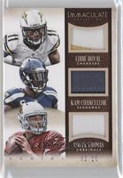Eddie Royal, Kam Chancellor, Logan Thomas /10