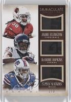 Andre Ellington, DeAndre Hopkins, Sammy Watkins /3