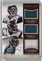 Allen Robinson, Marqise Lee, Blake Bortles /99