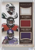 Teddy Bridgewater, Bilal Powell, Harry Douglas /49