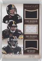 Dri Archer, Terry Bradshaw, Troy Polamalu /25