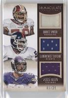 Bruce Smith, Jared Allen, Lawrence Taylor /25