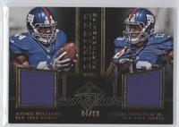 Andre Williams, Odell Beckham Jr. /99