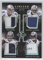 DeMarco Murray, Gavin Escobar, Terrance Williams, Tony Romo /25