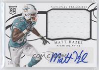 Rookie Materials Signatures - Matt Hazel #29/99