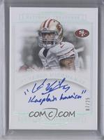 Distributed in 2015 National Treasures - Colin Kaepernick /25