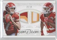 Aaron Murray, De'Anthony Thomas /25