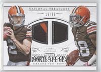 Johnny Manziel, Terrance West /99