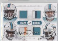 Jarvis Landry, Brian Hartline, Charles Clay, Mike Wallace /25