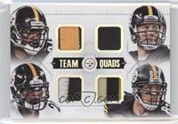 Heath Miller, Antonio Brown, Ben Roethlisberger, Le'Veon Bell /5