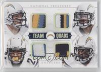 Antonio Gates, Philip Rivers, Ryan Mathews, Keenan Allen /25