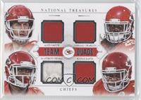 De'Anthony Thomas, Jamaal Charles, Knile Davis, Alex Smith /49