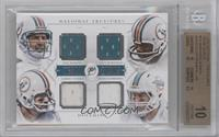 Dan Marino, Paul Warfield, Larry Csonka, Ryan Tannehill /49 [BGS 10]