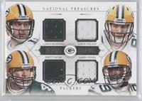 Brett Favre, Jordy Nelson, Aaron Rodgers, James Jones /25