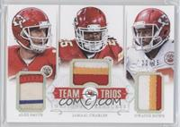 Alex Smith, Jamaal Charles, Dwayne Bowe /25
