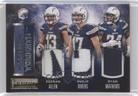 Keenan Allen, Philip Rivers, Ryan Mathews /5