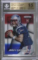 Jimmy Garoppolo (Both Hands on Ball, Facing Right) [BGS 9.5]