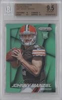 Johnny Manziel (Ball in Both Hands, Looking Forward) [BGS 9.5]